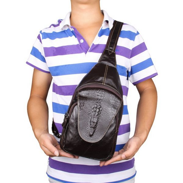 Men Chest Bag Backpack Messenger Bag