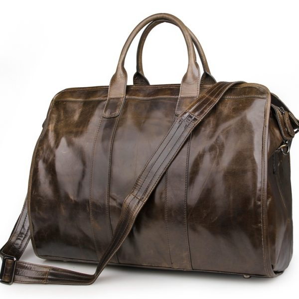 Cow Leather Duffle Bag